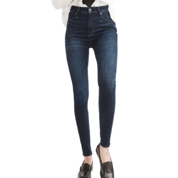 Abercrombie & Fitch High Rise Skinny Jeans 00S